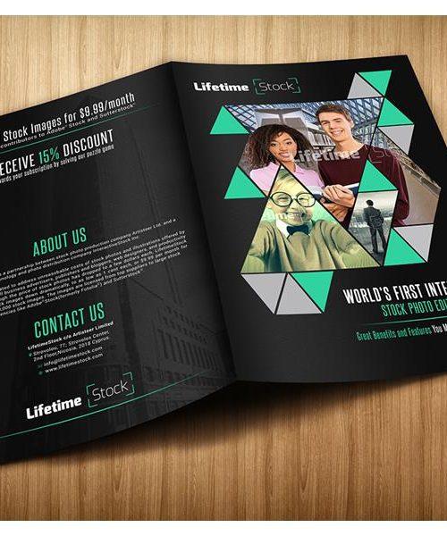 a5 brochure aasan print